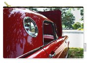 Vintage Car - Opera Window T-bird - Luther Fine Art Carry-all Pouch