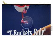 T-buckets Rule Carry-all Pouch by Jill Reger