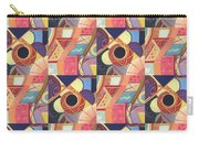 T J O D Tile Variations 19 Carry-all Pouch