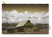 T.a. Moulton Barn In The Grand Tetons Carry-all Pouch