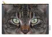 Tabby Cat Face Carry-all Pouch