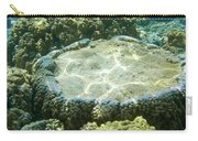 Table Top Coral Carry-all Pouch