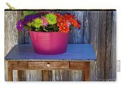 Table Top Flowers Carry-all Pouch