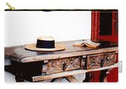 Table With Hat And Book Carry-all Pouch