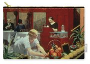 Tables For Ladies Carry-all Pouch by Edward Hopper