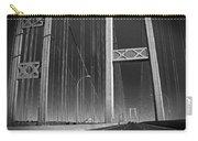 Tacoma Narrows Bridge B W Carry-all Pouch
