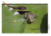Tadpole And Frog Carry-all Pouch