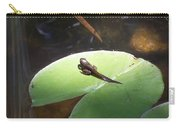 Tadpole On Lily Pad Carry-all Pouch