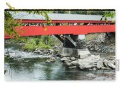 Taftsville Covered Bridge Vermont Carry-all Pouch