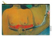 Tahiti Two Tahitian Women Carry-all Pouch