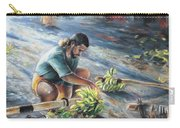 Tahitian Banana Carryer Carry-all Pouch