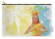 Tahitian Dancer Carry-all Pouch