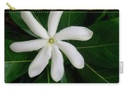 Tahitian Gardenia Carry-all Pouch