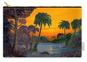Tahitian Sunset Carry-all Pouch