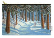 Tahoe Forest In Winter Carry-all Pouch
