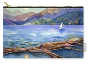 Tahoe Tides Carry-all Pouch by Jen Norton