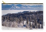 Taiga Snowshoe Trail Landscape Yukon T Canada Carry-all Pouch