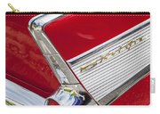 Tail Fins Are In 1957 Chevy Carry-all Pouch