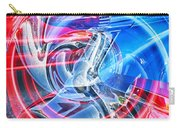Tail Light Abstract Carry-all Pouch