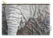 Tail Of African Elephant Carry-all Pouch