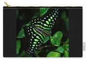 Tailed Jay Butterfly Carry-all Pouch