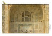 Taj Mahal Close Up Carry-all Pouch
