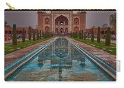 Taj Mahal Great Gate Reflection Carry-all Pouch