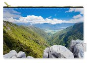 Takaka Hill Limestone Outcrops Takaka Valley In Nz Carry-all Pouch