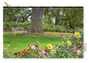Take A Seat - Beautiful Rose Garden Of The Huntington Library. Carry-all Pouch