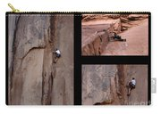 Take Action No Caption Carry-all Pouch by Bob Christopher