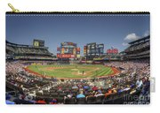 Take Me Out To The Ballgame Carry-all Pouch by Evelina Kremsdorf