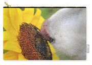 Take Time To Smell The Sunflowers Carry-all Pouch