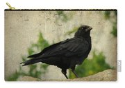 Blackbird Is Taking It All In Carry-all Pouch
