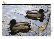 Taking Opposite Directions Carry-all Pouch