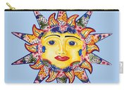 Talavera Sun-blue Carry-all Pouch
