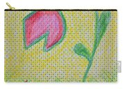 Talking In The Garden Carry-all Pouch