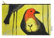 Tall Birds Eat Seeds Carry-all Pouch