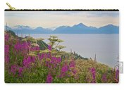 Tall Fireweed And Cow Parsnip Over Cook Inlet Near Homer- Ak Carry-all Pouch