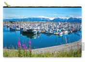 Tall Fireweed By The Marina Along Homer Spit-ak  Carry-all Pouch