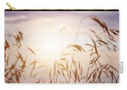 Tall Grass At Sunset Carry-all Pouch