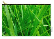 Tall Green Grass Carry-all Pouch
