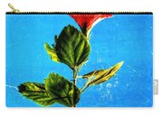 Tall Hibiscus - Flower Art By Sharon Cummings Carry-all Pouch