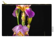 Tall Iris Carry-all Pouch