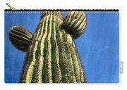 Tall Saguaro Cactus Carry-all Pouch
