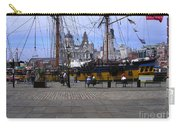 Tall Ship At Albert Dock 2 Carry-all Pouch