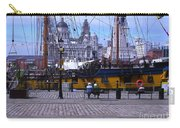 Tall Ship At Albert Dock Carry-all Pouch