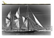 Tall Ship Bw Carry-all Pouch