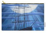 Tall Ship By Moonlight Carry-all Pouch