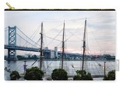 Tall Ship Gazela At Penns Landing Carry-all Pouch by Bill Cannon