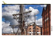 Tall Ship In Gloucester Docks Carry-all Pouch